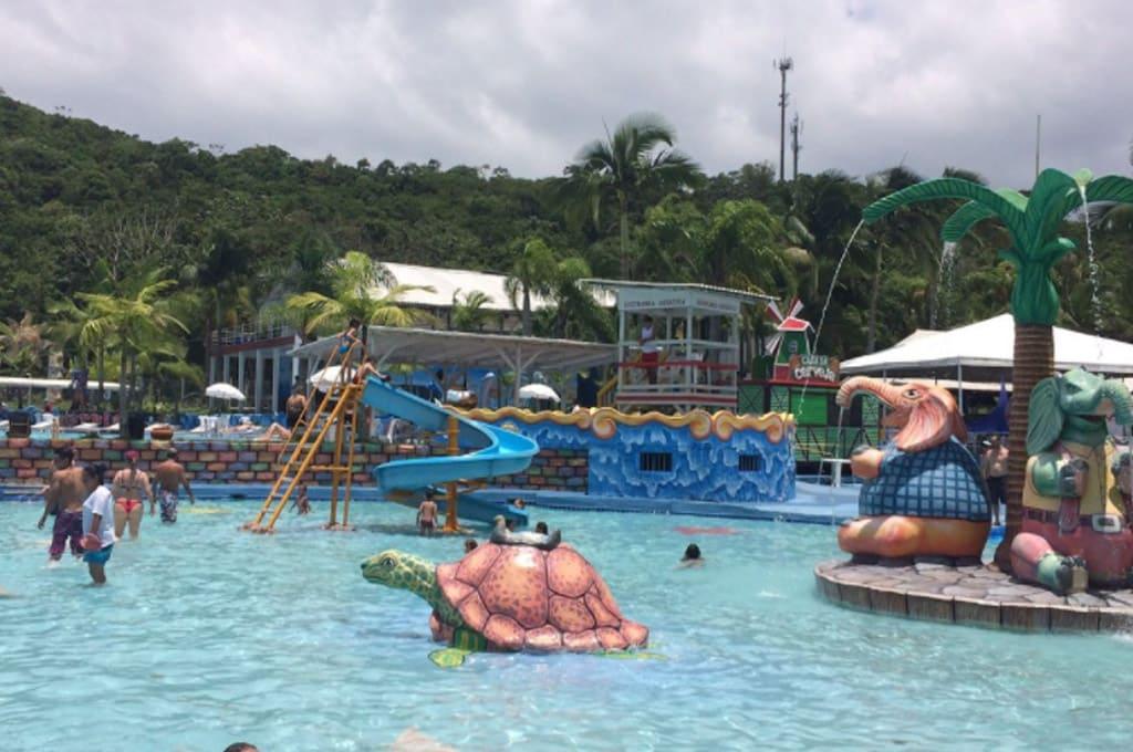 parque aquático Balneário Camboriú