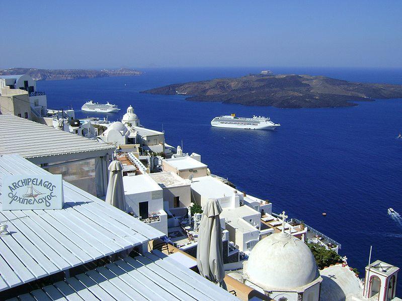 Pontos turísticos de Santorini interessantes