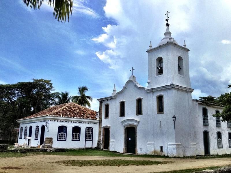 Igrejas em Paraty