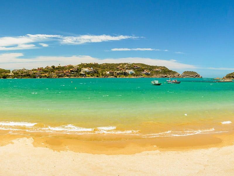 melhor praia para se hospedar em búzios