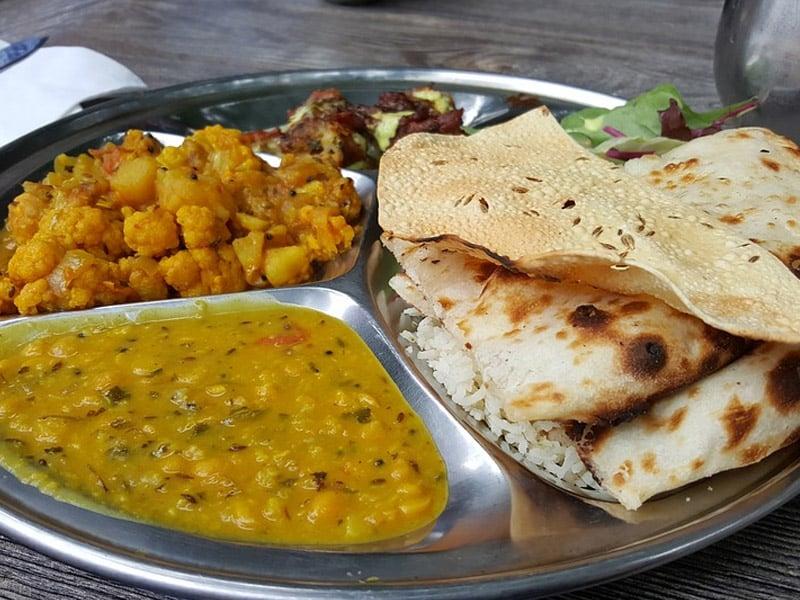 comidas típicas da Índia