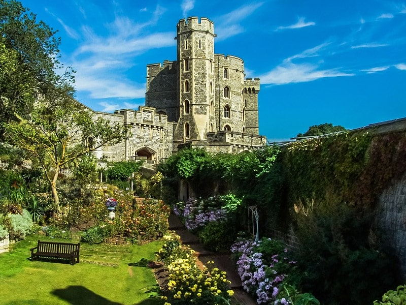 Castelo família real Inglaterra