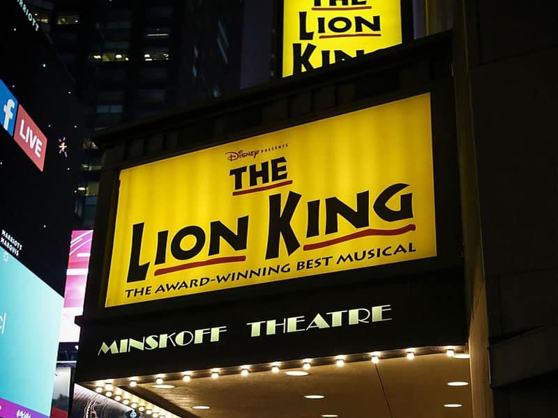 o rei leao musical