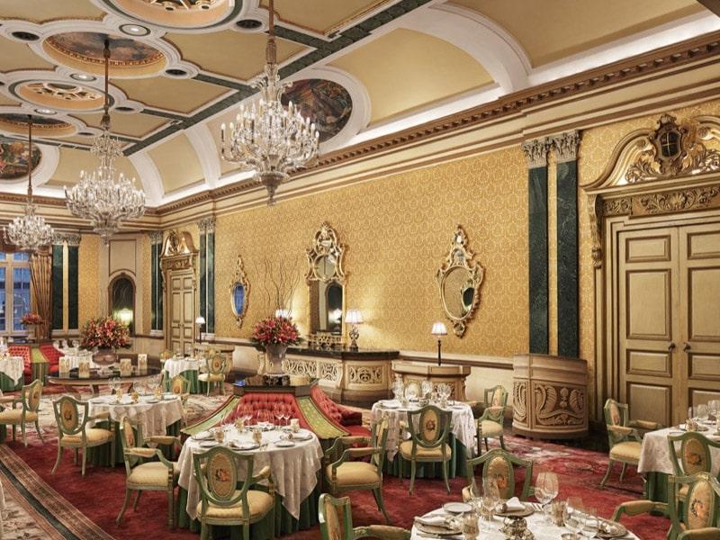 restaurantes luxuosos na índia