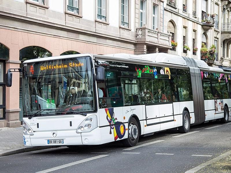 ônibus estrasburgo