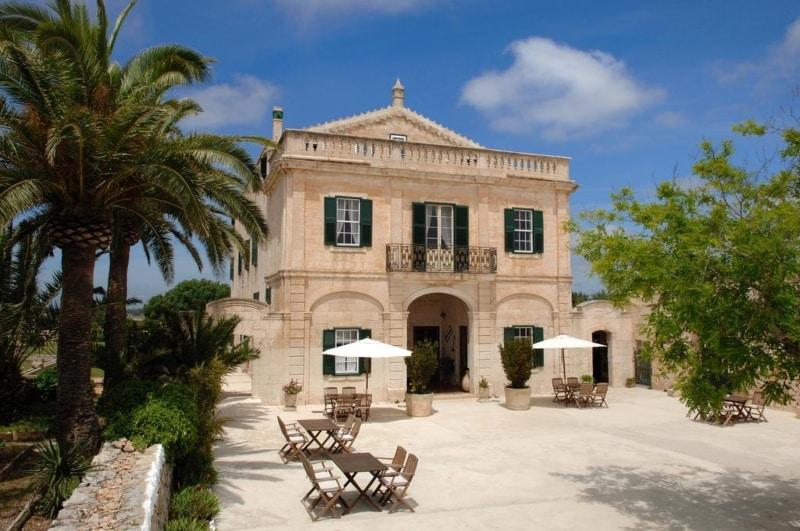 Hotel antigo em Menorca