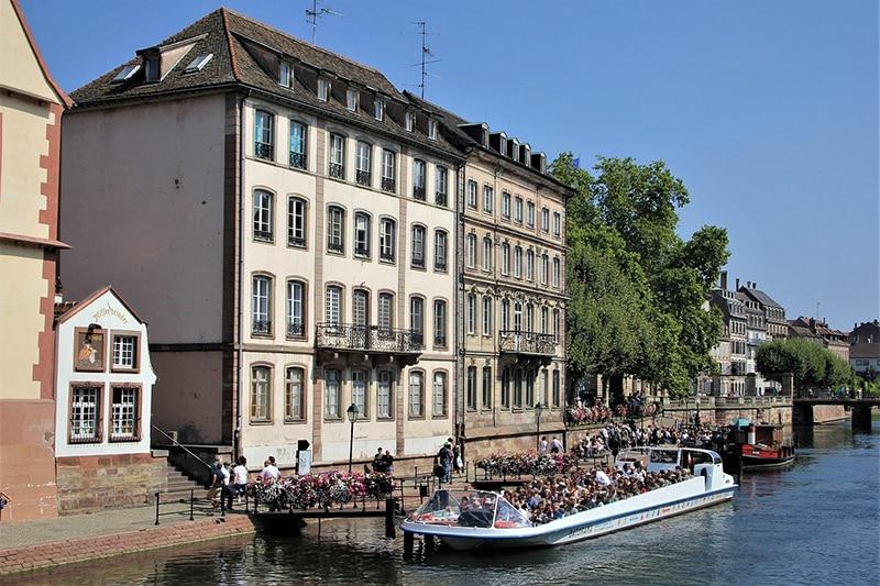 Passeio de barco Estrasburgo