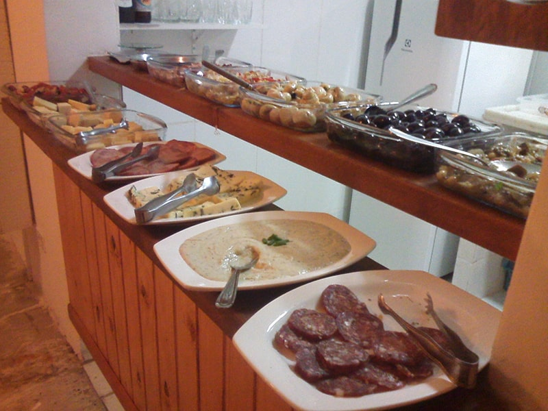 Restaurantes self service em Ubatuba