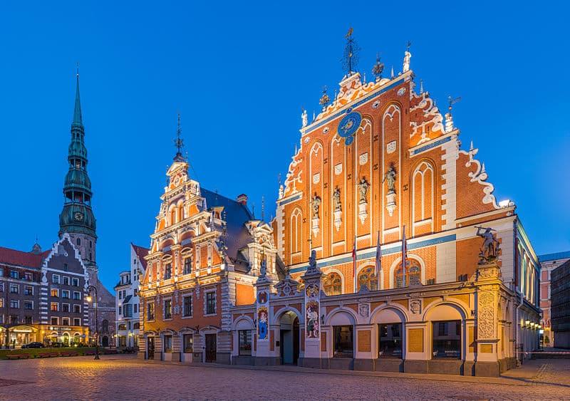 Pontos turísticos de Riga