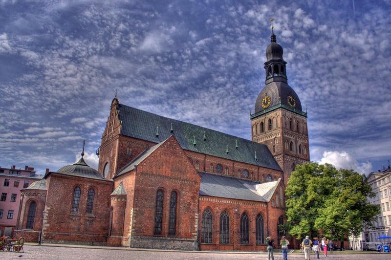 Catedrais na Letônia