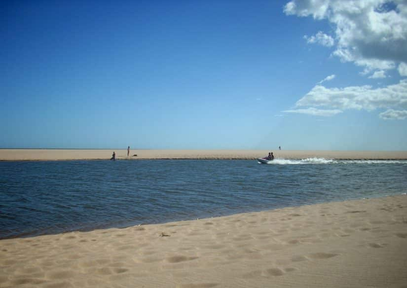 praia de nudismo punta del este