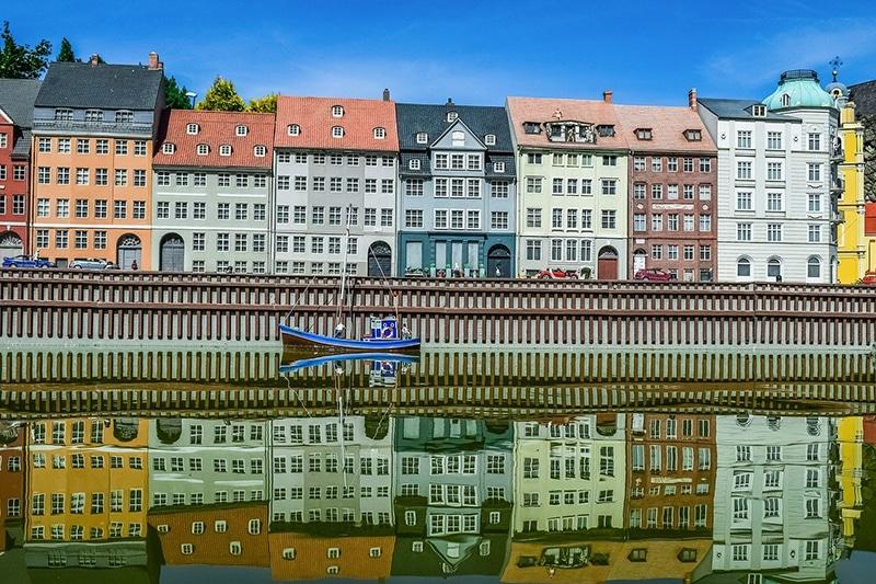 Trem em Copenhague