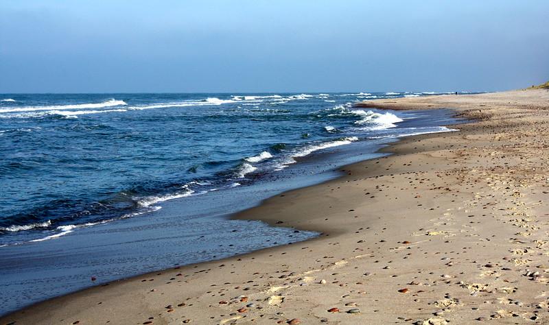 Praias de Curonian Spit
