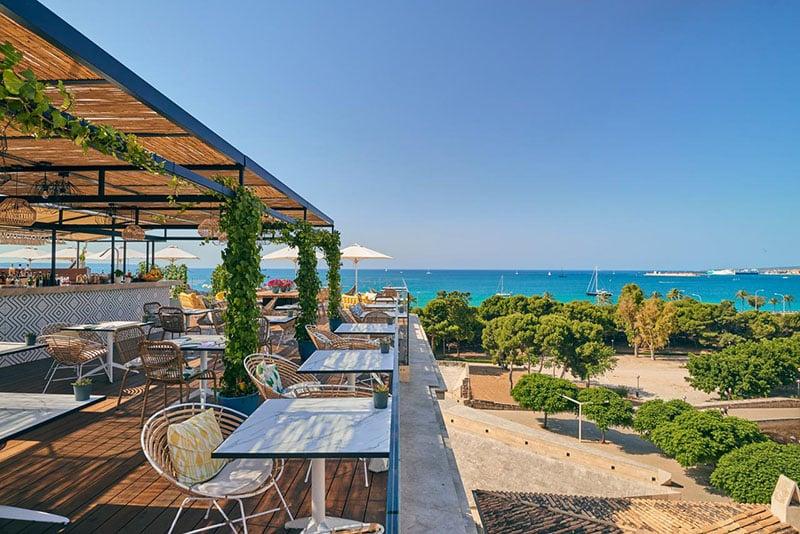 Hotel com vista para o mar em Maiorca