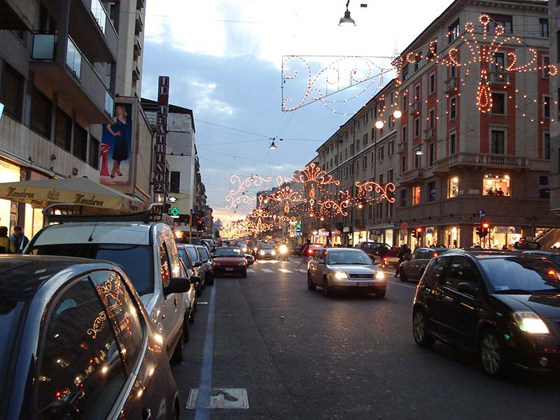 Outlets em Milão, Itália