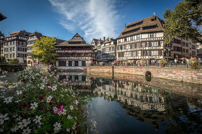 Roteiro em Estrasburgo