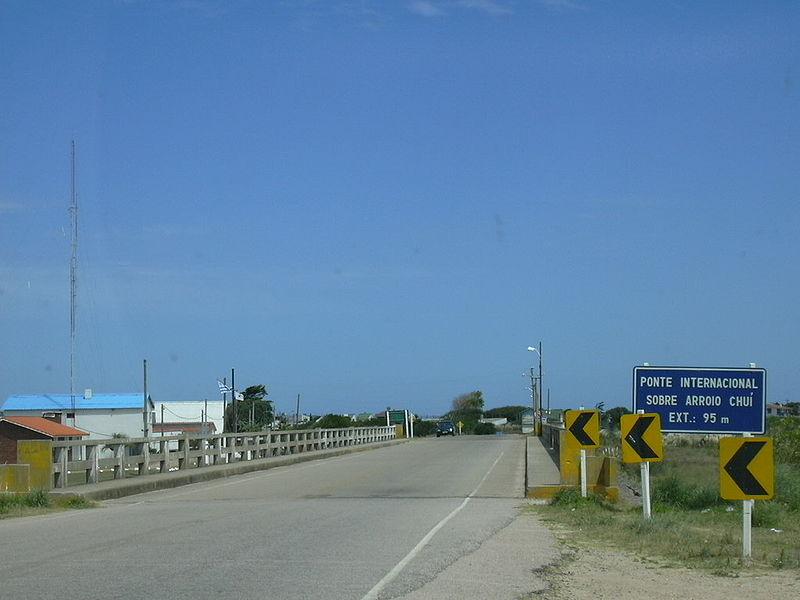 Como chegar no Uruguai