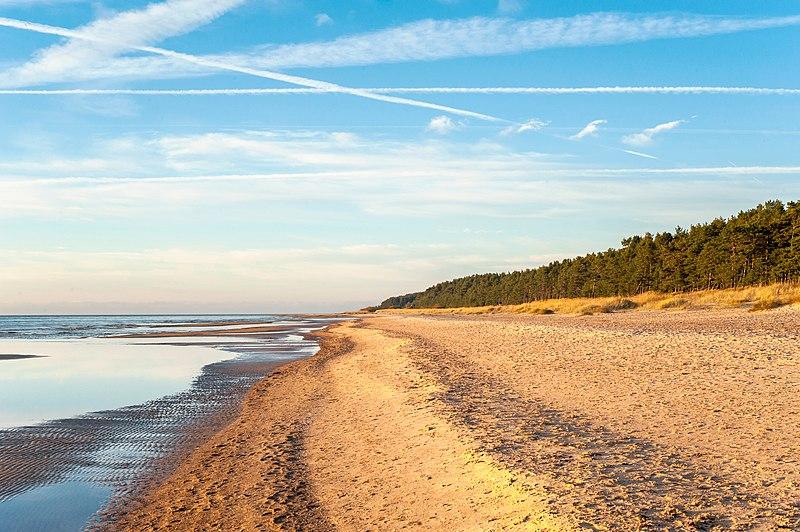 Praias da Letônia