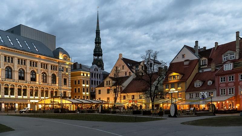 Roteiro em Riga