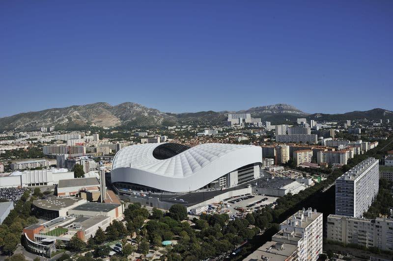 estádios de futebol mais bonitos Stade Vélodrome