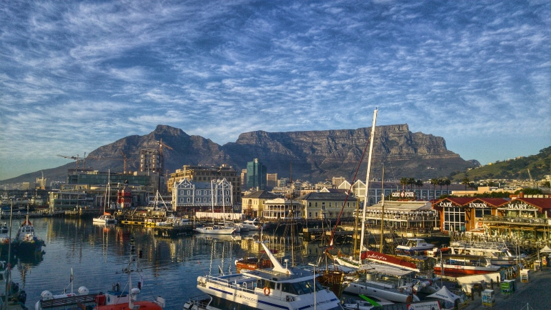 Table Mountain weather