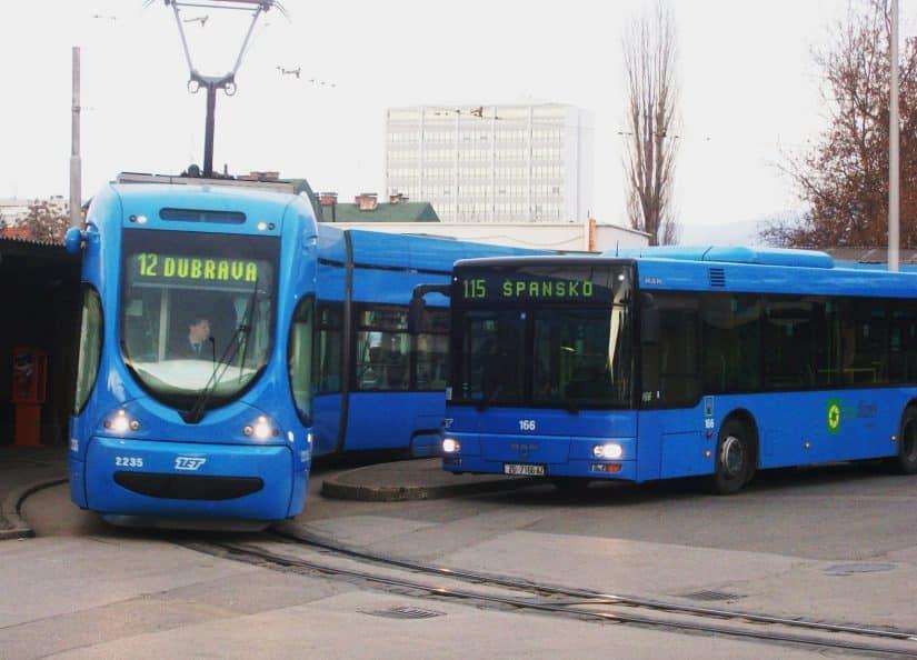 meios de transporte da croácia