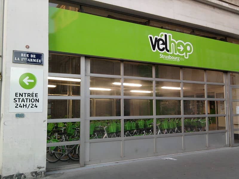 como alugar bicicleta em estrasburgo?