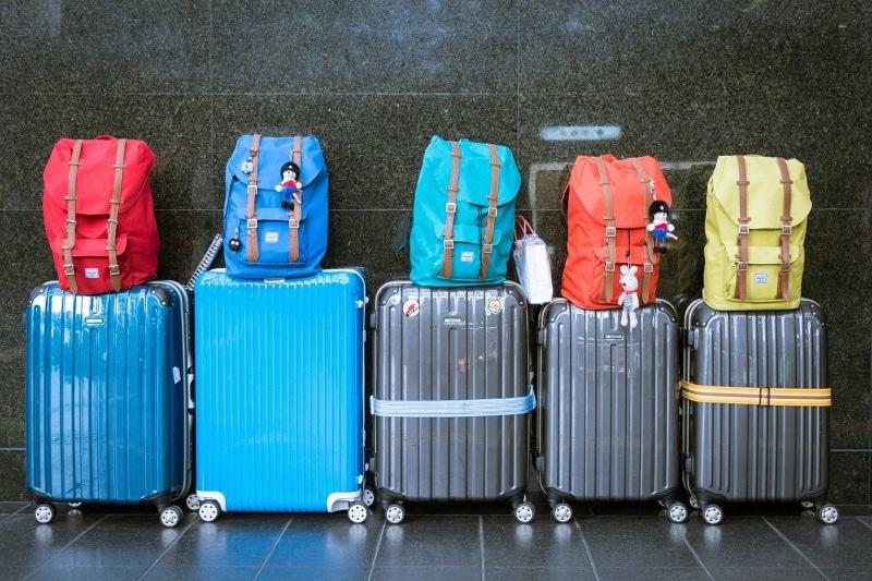 Guarda-volumes no aeroporto