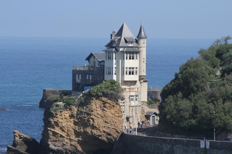 Trem para Biarritz
