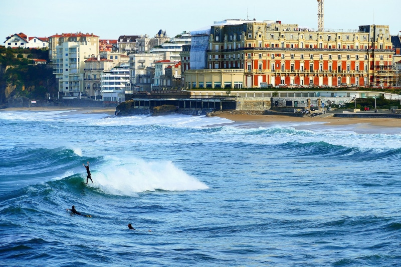 Biarritz como chegar