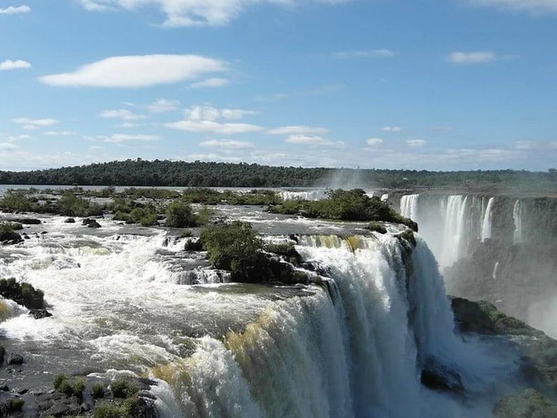 Quantas cachoeiras tem em Foz do Iguaçu