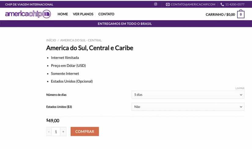Como usar internet no Chile