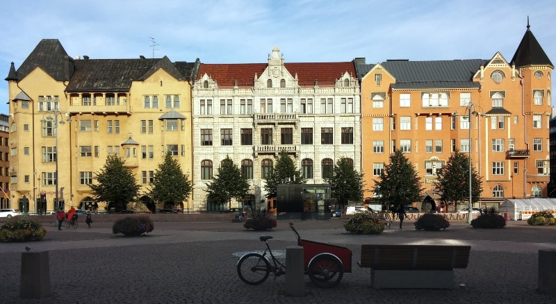 Temperatura em Helsinque