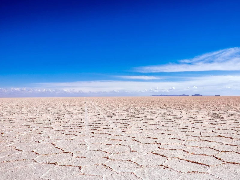 Deserto de sal Bolívia
