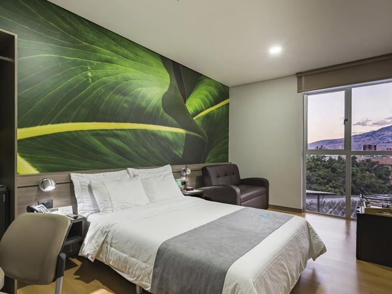 hotéis com vista em medellin