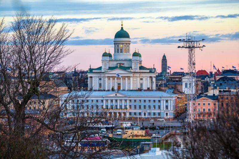 Finlândia sol da meia noite