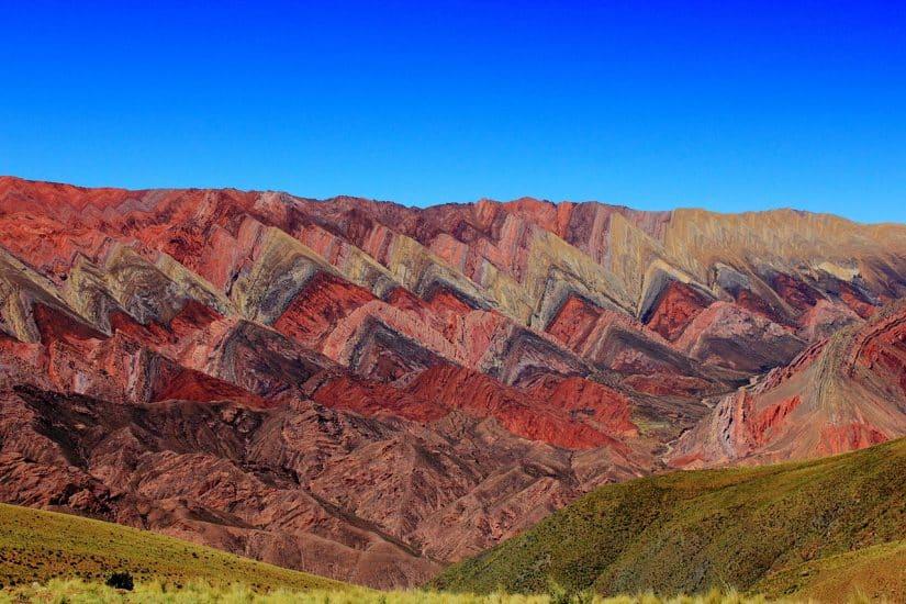 Quebrada de Humahuaca - montanhas