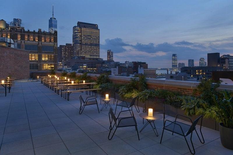 Hotéis em Nova York em locais calmos