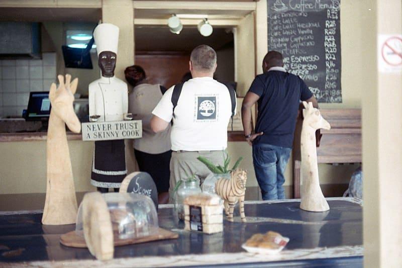 Kruger Park restaurante