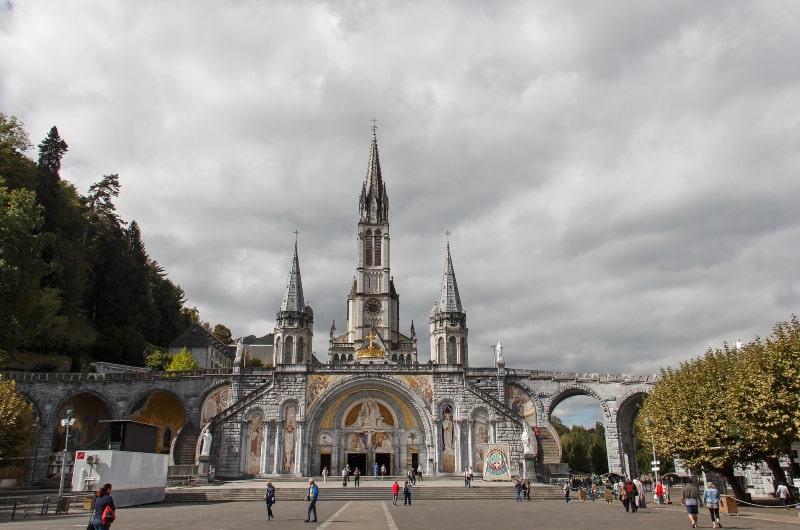 Trem para Lourdes