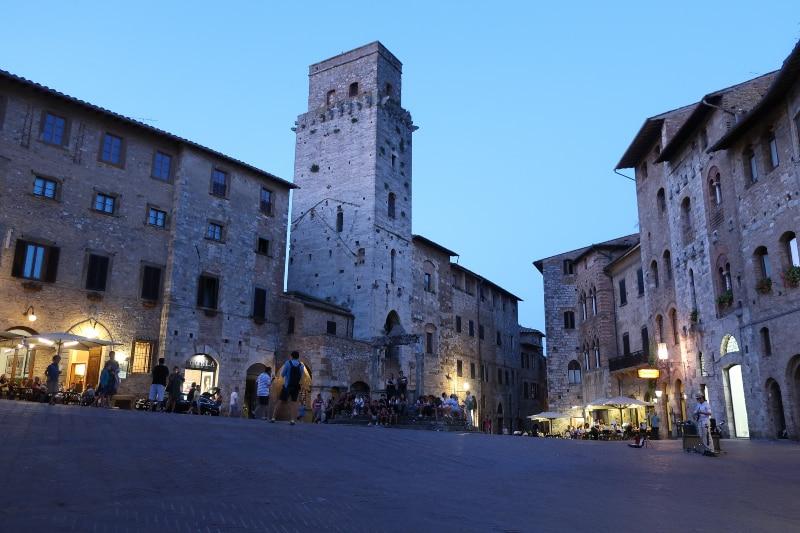 Pontos turísticos de San Gimignano