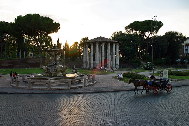Importante praca de Roma