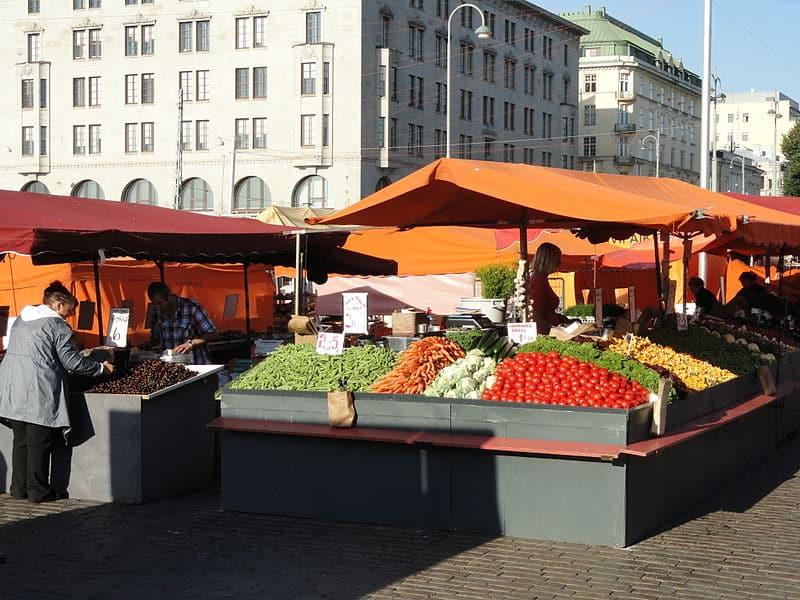 Mercado Central de Helsinque