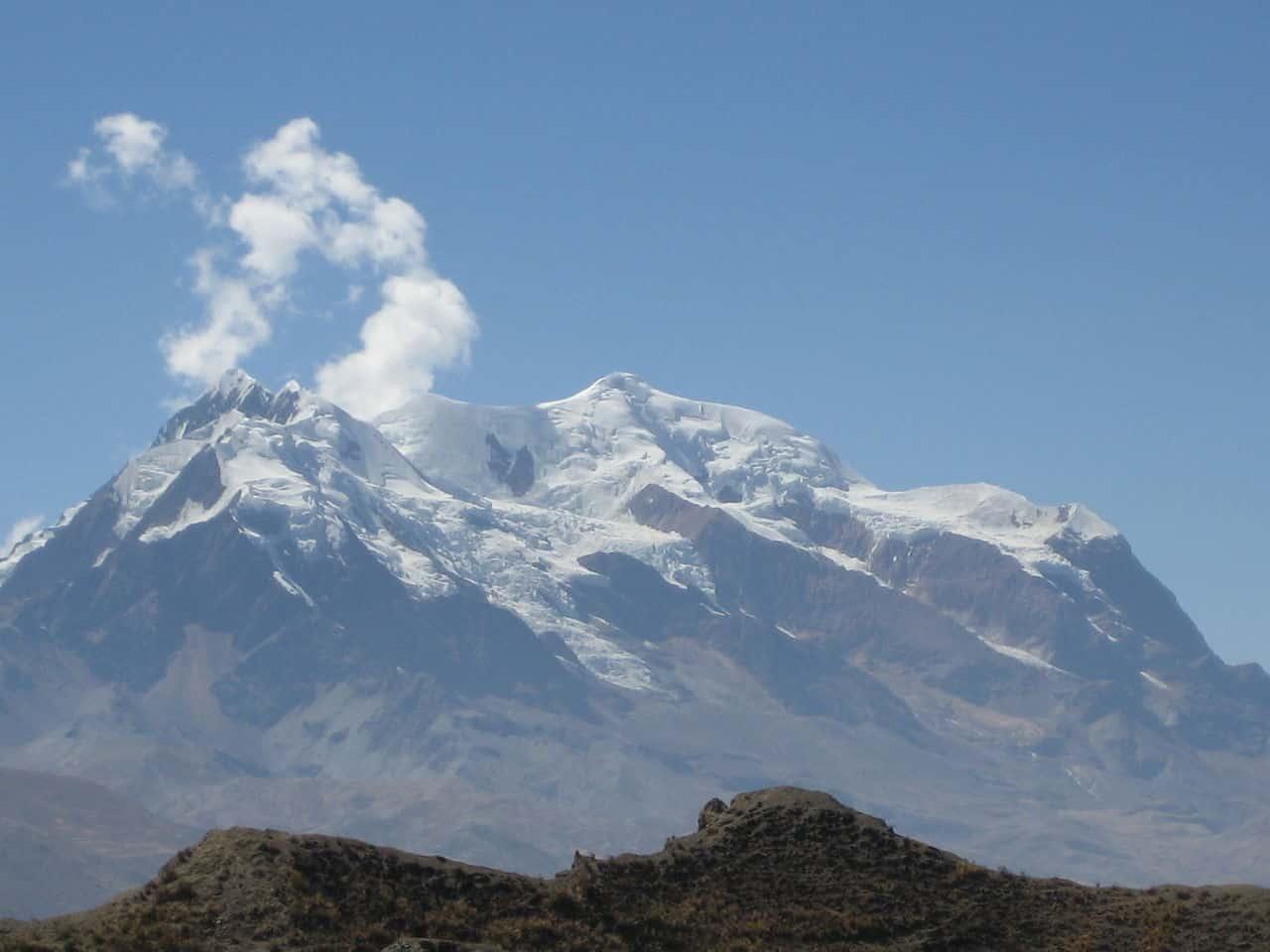 Colina Illimani Bolívia