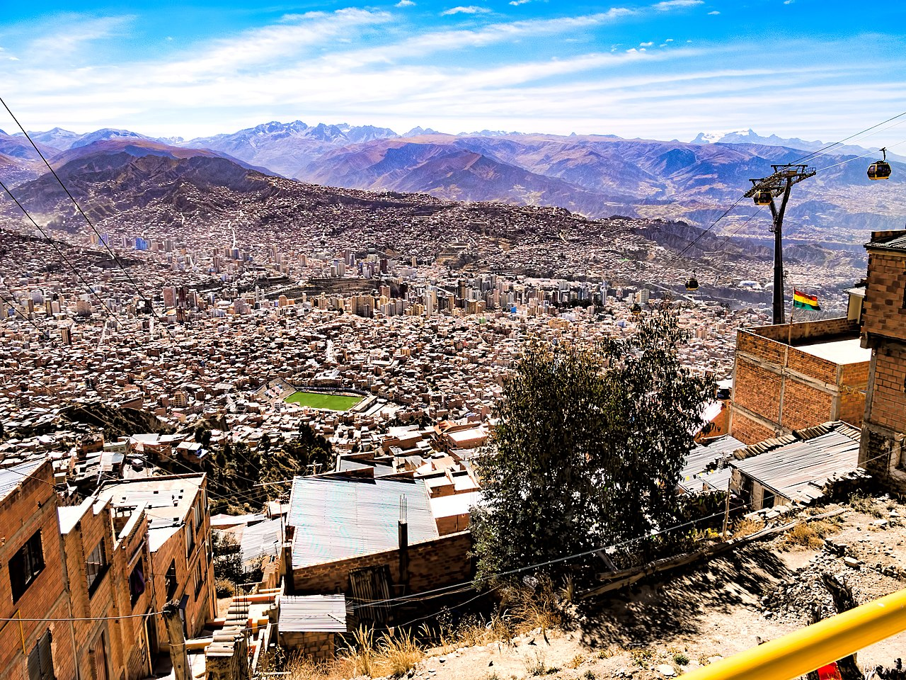 Pontos turísticos de La Paz