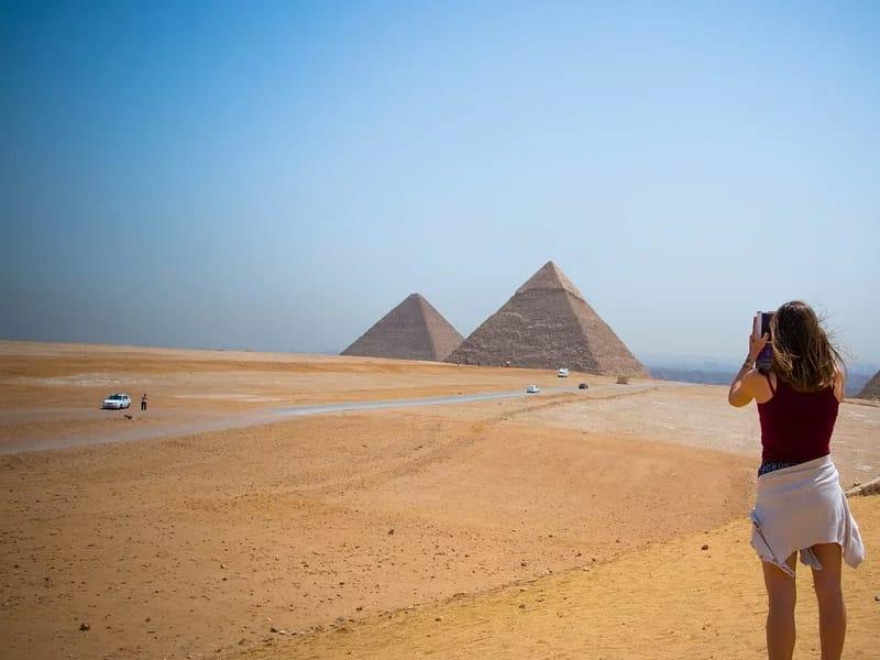 As sete maravilhas do mundo antigo Piramides de Gizé