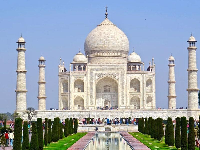 Taj Mahal maravilhas do mundo