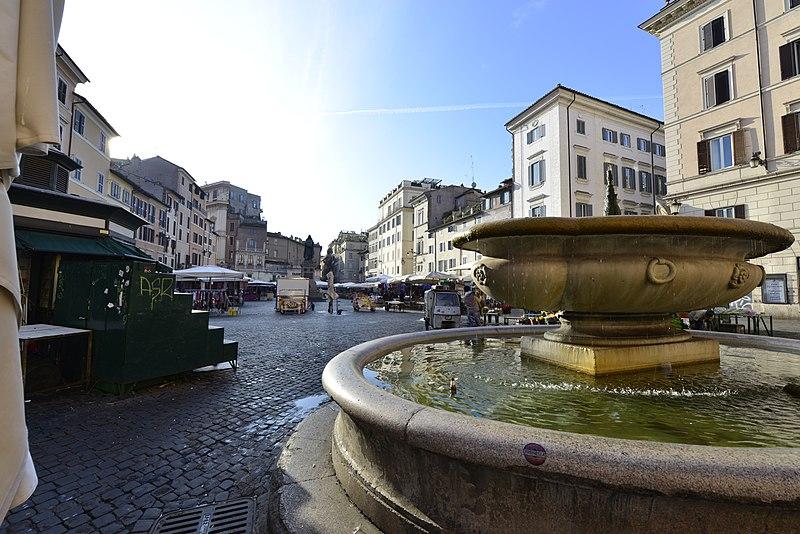 Praças de Roma conhecidas