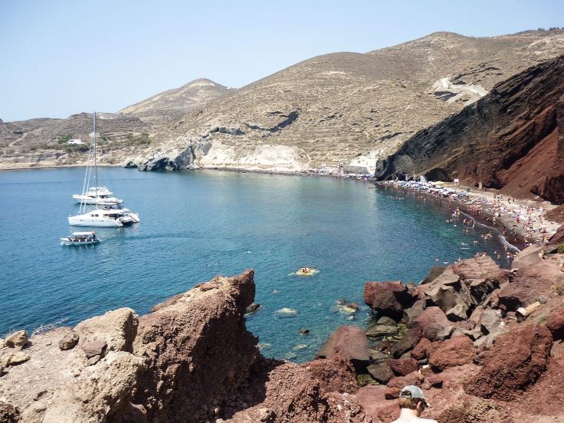 Pesca em Santorini