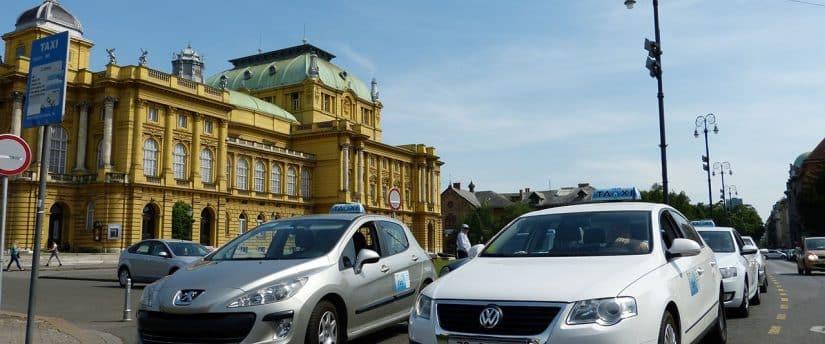 taxi em Zagreb